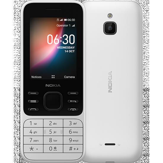 Nokia 6300 4G Dual Sim 4GB White (512MB RAM)