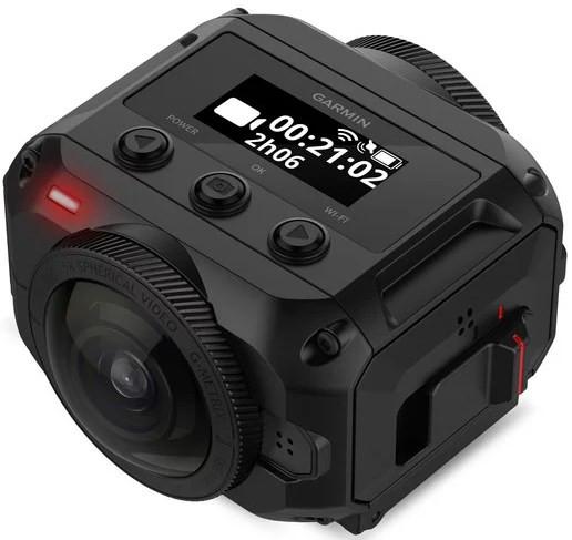 Garmin VIRB 360 - Rugged, Waterproof 360-degree Camera (5.7k/30fps Resolution / 4K Spherical Stabilization)