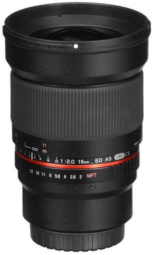 Samyang 16mm f/2.0 ED AS UMC CS (Sony NEX)
